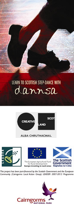 Learn to Scottish Step Dance with Dannsa - DVD available to buy online.
